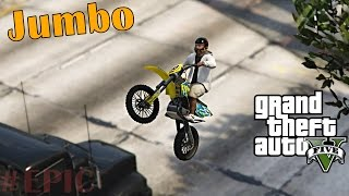GTA 5 Motorcycle STUNTS & FAILS ( Funny Moments )