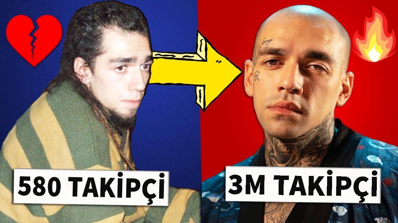 Rapçilerin Eski Hayatı vs. Günümüz   Türkçe Rap