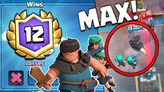 NEW BEST RASCALS DECK! 12 WIN GRAND CHALLENGE EASY!? | Clash Royale MAX RASCALS GAMEPLAY!!