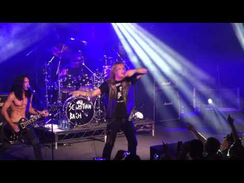 18 and Life -  Sebastian Bach - Live at The Metro Sydney 2015