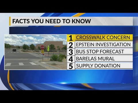 August 12th Morning Rush: APS gets rid of crosswalk aide at Tony Hillerman Middle School