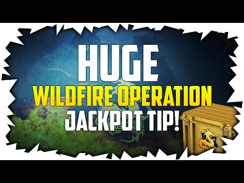 HUGE WILDFIRE OPERATION JACKPOT TIP! | CSGO BETTING