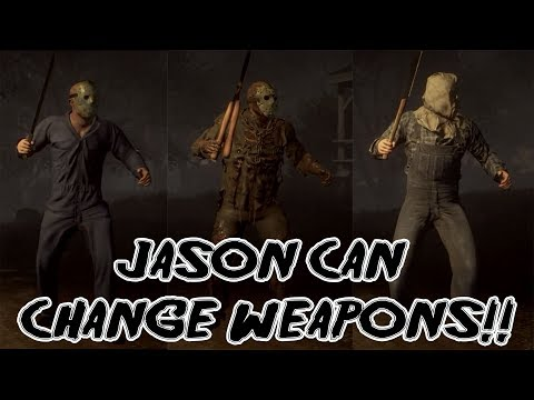 JASON CAN CHANGE WEAPONS! [NEW UPDATE!]| Mix Match Slash | Friday the 13th: The Game [news]
