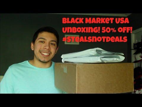 Black Market USA Unboxing! #StealsNotDeals