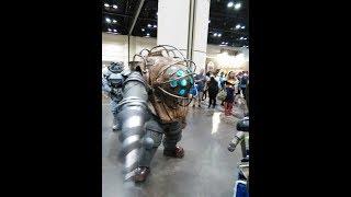 BIG DADDY invades MegaCon Orlando 2018! (Bioshock Cosplay)