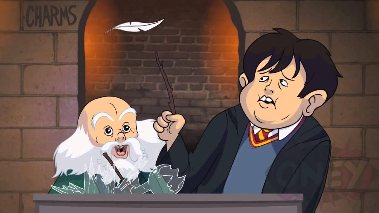 Harry potter cartoon - 4 10