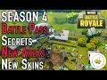 Fortnite Season 4 - Quick Look (SECRETS | Battle Pass Overview | Map Changes | New Skins)