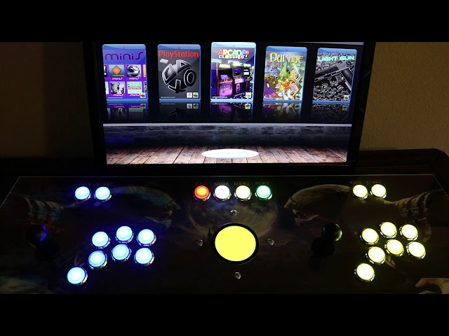 Loading Arcade Images and Configuring Controls on Raspberry PI