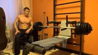 #32 Прогресс в жиме лежа - 80 кг на 8 и 6 раз