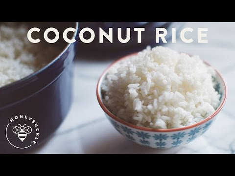 Coconut Rice Recipe HoneysuckleCatering
