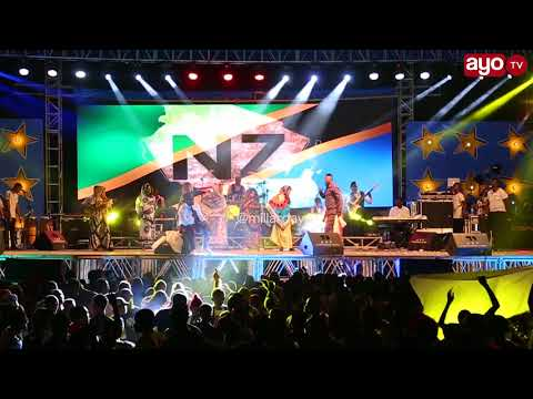 Hapa Ommy Dimpoz Huku Christian Bella ''NANI KAMA MAMA''