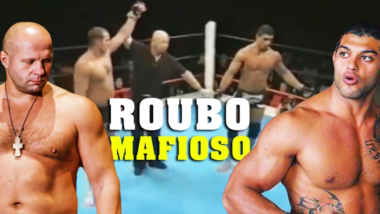 A LUTA MAIS ROUBADA DO MMA - RICARDO ARONA vs FEDOR EMELIANENKO #cfxsports