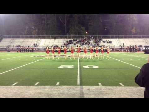 Greater Atlanta Christian School Red Dance Team Pom Routine 2014-2015