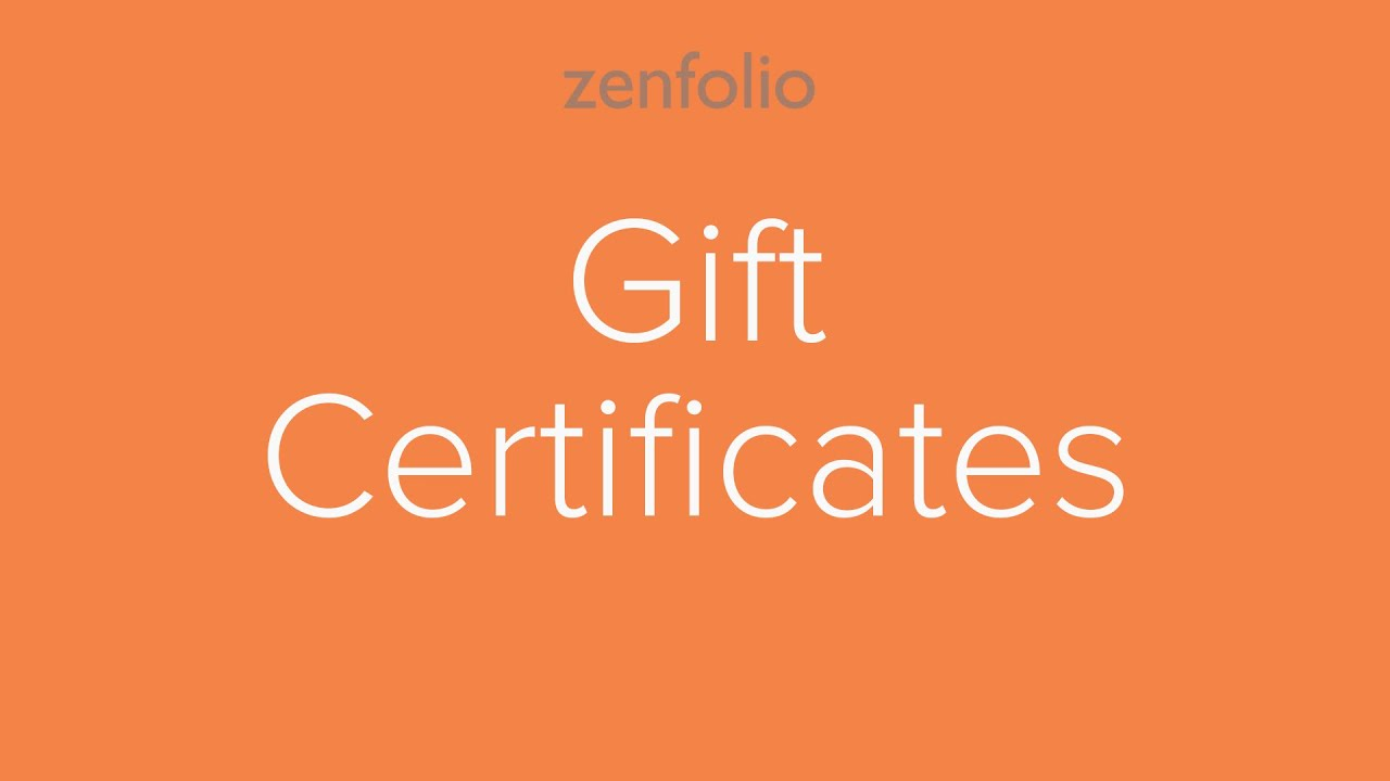 how to create online gift certificates for your clients youtube