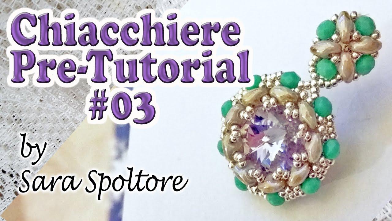 Favorito Chiacchiere pre-tutorial #03 - Orecchini con perline superduo e  GZ45