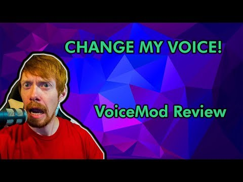 VoiceMod Review: Voice changing software for Twitch - YouTube
