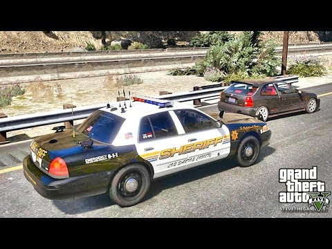 GTA 5 MODS LSPDFR 782 - SHERIFF PATROL !!! (GTA 5 REAL LIFE PC MOD)