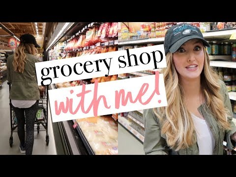 GROCERY SHOP WITH ME! + Healthy Tips & Hacks!