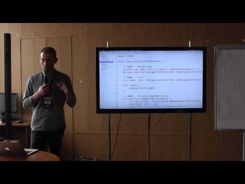 Применение ApplicationCoordinator в iOS приложениях | Павел Гуров