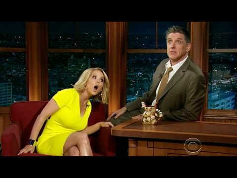 Carrie Keagan about Testicles Size on Craig Ferguson