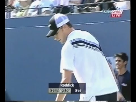 When Roddick Broke the Record for Most Consecutive Aces! 7 Aces in a Row!