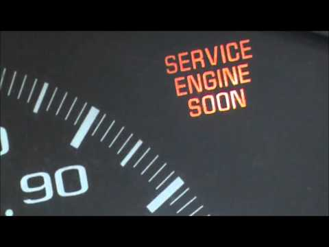 que significa SERVICE ENGINE SOON en el tablero de mi carro