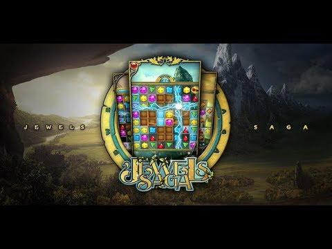 Любишь камушки? Обзор игры Jewels Saga за 60 секунд!