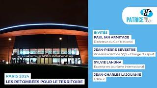 PAF – Patrice and Friends – Paris 2024, les retombées économiques pour le territoire