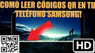 2 formas de  leer códigos QR en tu telefono Samsung
