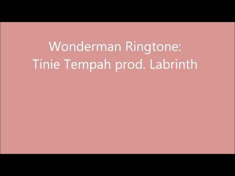 LINK Wonderman Ringtone Download  Tinie Tempah prod Labrinth