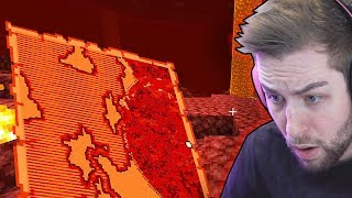 Going into the NETHER in MINECRAFT