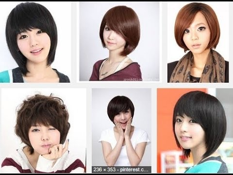 youtube short hair styling hair korean style 7328 | hqdefault