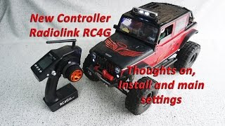 radiolink controller RC4G Thoughts on, install and basic settings