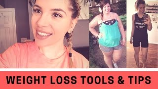 TOOLS I USED TO LOSE 130LBS   Weight Loss Tools & Tips