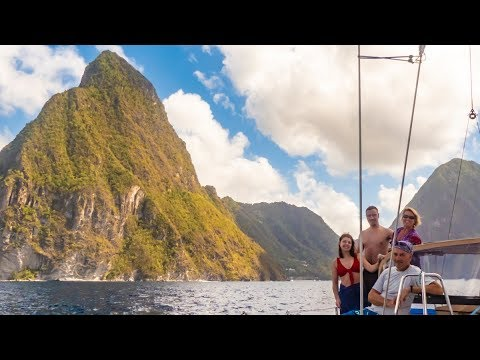 Argon Sailing St Lucia - Projects and Family Visit!