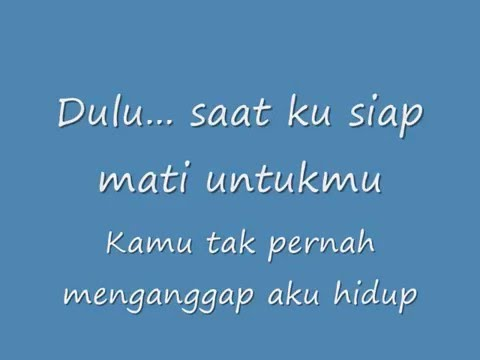 Mytha Lestari - Aku Cuma Punya Hati (Lyric Video)