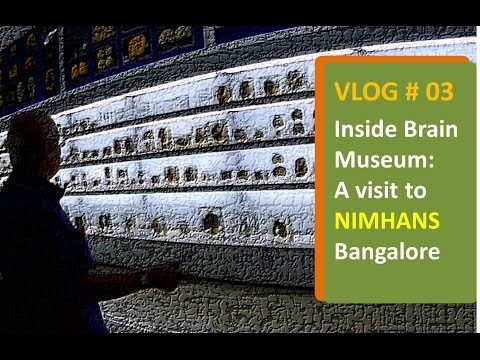 Visit to NIMHANS: Brain Museum & Brain Bank