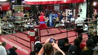 2013 New York Boxing Tournament 152 Open Championship Jayquran Hazel Vs Jeremy Fiorentino