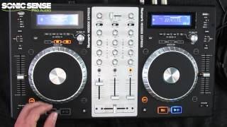 Numark Mixdeck Express: Complete Mobile DJ System from Sonic Sense Pro Audio