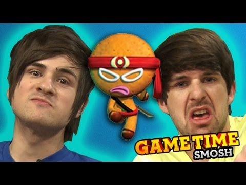 CAN'T CATCH THE NINJA BREAD MAN (Gametime w/ Smosh)