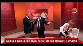 Letizia Moratti contro Giuliano Pisapia: