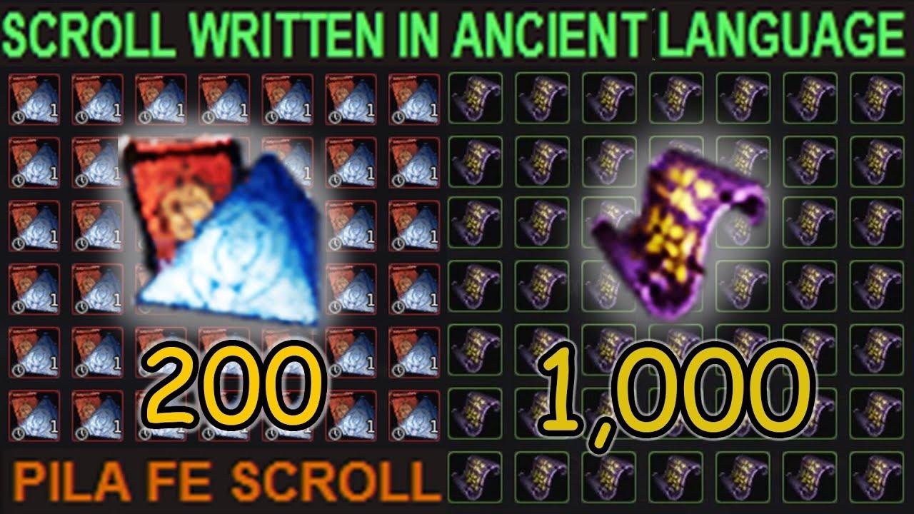 1,000 Ancient Language Scroll's IS IT WORTH IT?! | Black Desert Online