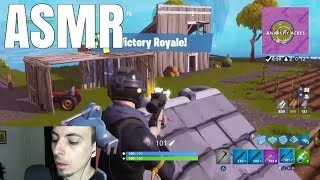 [ASMR] FORTNITE Solo Victory Royale! (Whispered Commentary)