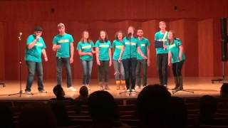 The Big Bang Katy Tiz A Cappella Cover By All Of The Above From Drew University