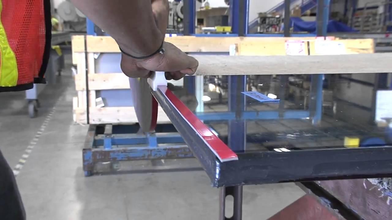 3m Glazing Tape : M tm vhb structural glazing tape youtube