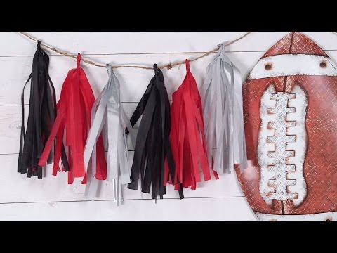How To Make Tassel Garland | Southern Living