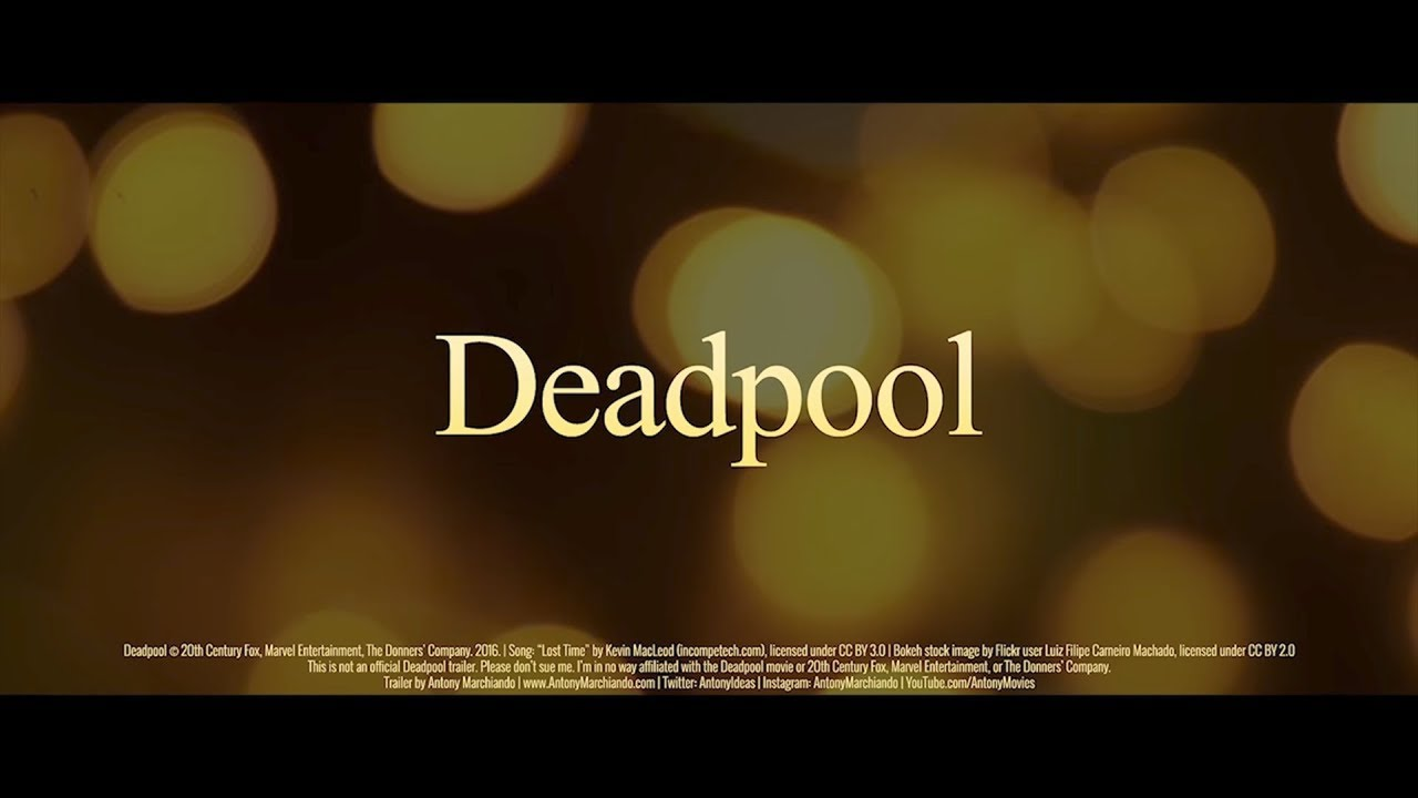Deadpool (2016) | Romance/Drama Movie Trailer