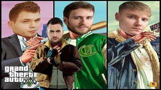 GTA V FUNNY MOMENTS - GUCIO & OVERPOW & ARQUEL & KUBON