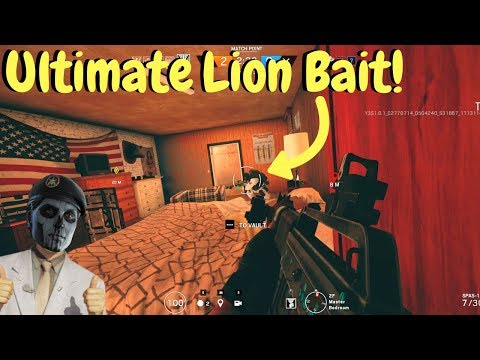 How to Counter Lion! - Rainbow Six Siege (TTS Gameplay)