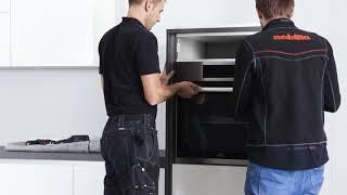 Montage video: Het plaatsen van de oven